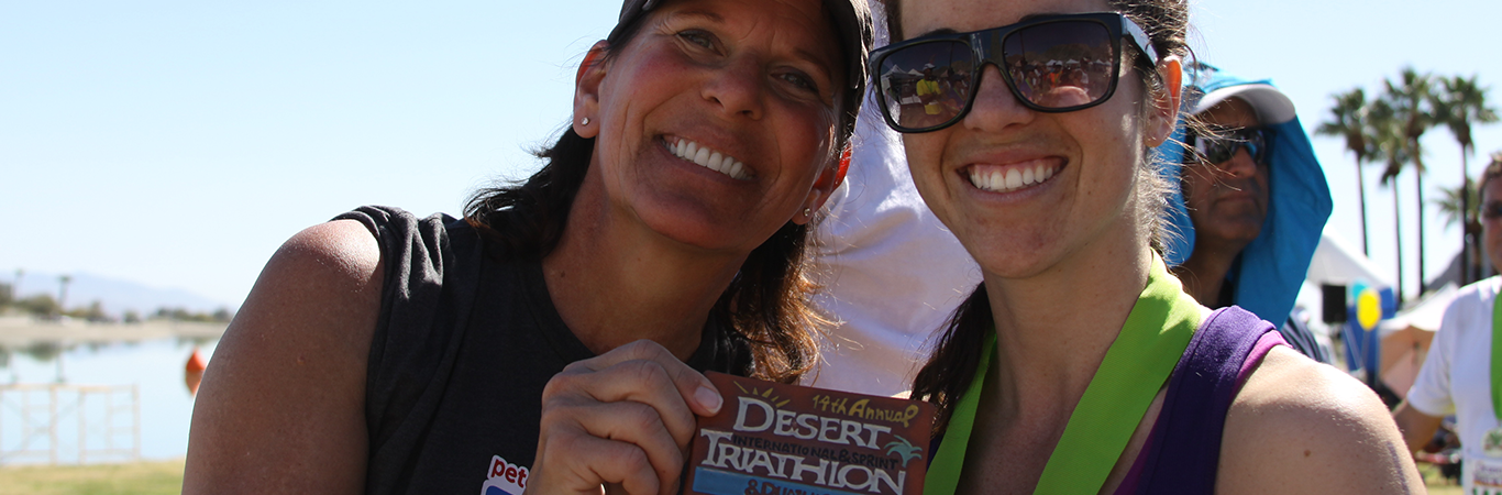First Step Athletics Desert Triathlon